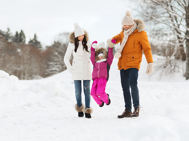 9 Ideas to Keep Kids Active during the Winter Months