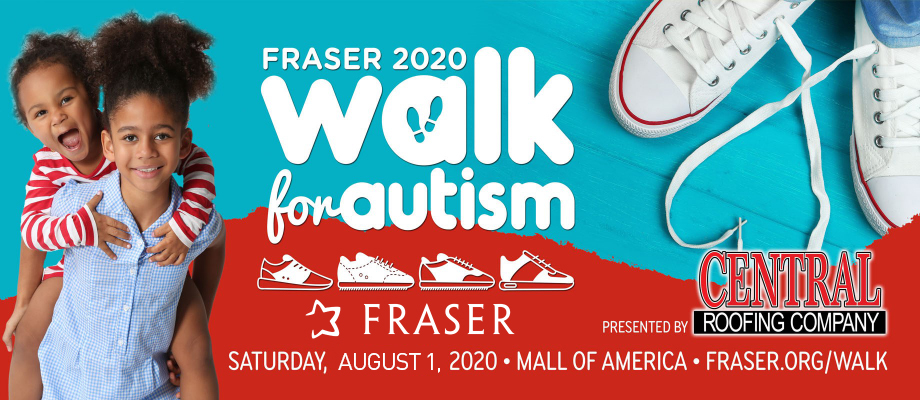 (NEW DATE!) Fraser Walk for Autism, presented by Central Roofing Company