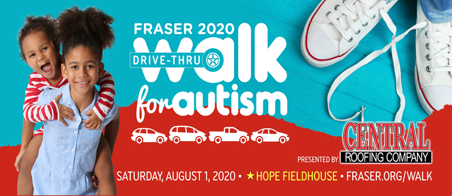 Fraser Walk for Autism, presented by Central Roofing Company