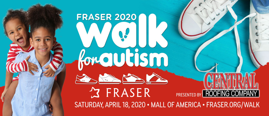(POSTPONED) Fraser Walk for Autism, presented by Central Roofing Company