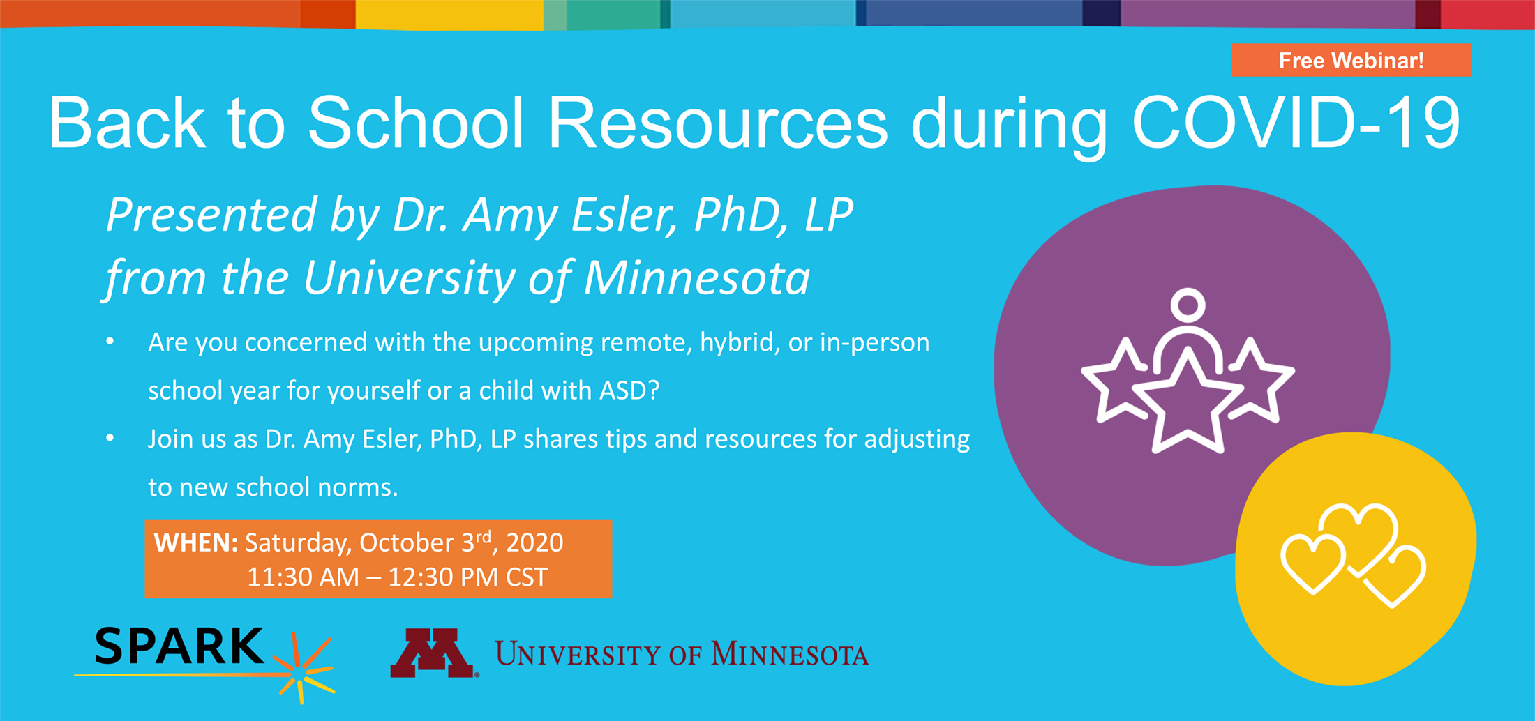 Free Webinar: Back to School Resources during COVID 19